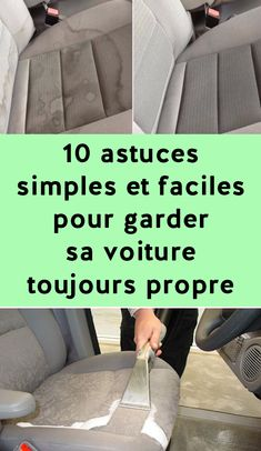 10 astuces simples et faciles pour garder sa voiture toujours propre Kitchen Hacks, Kitchen Decor, Flylady, Homekeeping, Clean Up, Interior Design Living Room, Cleaning Hacks, Simple, Bath Mat