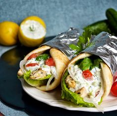 Leas Cooking: Chicken Gyros and Tzatziki Sauce Recipe