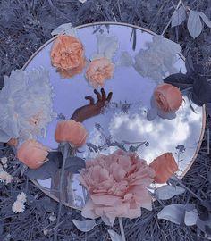 Light Blue Aesthetic, Blue Aesthetic Pastel, Peach Aesthetic, Aesthetic Indie, Aesthetic Colors, Flower Aesthetic, Aesthetic Images, Aesthetic Collage, Aesthetic Backgrounds