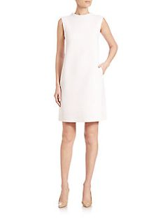 Max Mara - Vicini Sleeveless Crepe Dress
