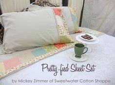 Moda Bake Shop: Pretty-fied Sheet Set (charm pack) #modabakeshop #modafabrics #lovepinwin