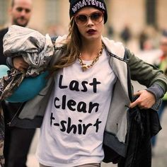 The 'Last Clean T-Shirt' Brings Humor to Laundry Day trendhunter.com