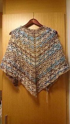 Ravelry: Wheat Sheaf Shawl pattern by Miriam Kajtner