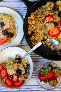 Quinoa Bake | nutritious morning breakfast