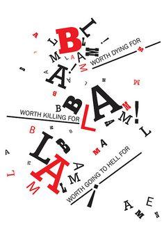 Typography study: Futurism