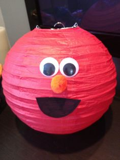 Elmo Themed First Birthday Party: DIY-Style | Ups and Downes