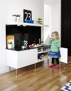 Design keuken voor kleine keukenprinsesjes.