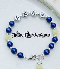 A personal favorite from my Etsy shop https://www.etsy.com/listing/245421445/personalized-girls-womens-bracelet-with