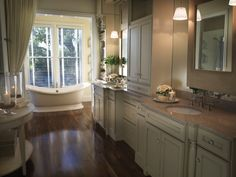 bathrooms with wood floors | Bathroom; wood floor | For the Home