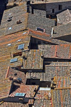 Rooftops of Toscana, Italy