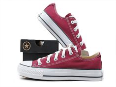 Converse All Star Ox Shoes Maroon