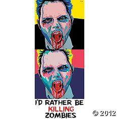 Zombie - 2 Up 17  #OrientalTrading #HalloweenWishList