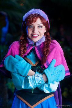 Anna - Frozen @ anime la 2015