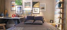 CompartilharInovação na decoração: azul marinho é o novo preto Elegância e estilo são características marcantes desta cor Segundo as tendências da feira de Milão de 2016, a novidade em questão