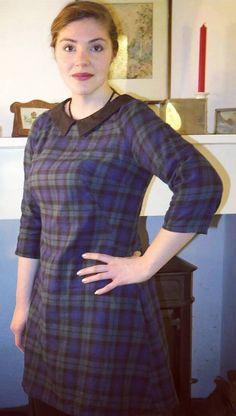 cab4376942 Elizabeth s Francoise dress - sewing pattern by Tilly and the Buttons Tilly  And The Buttons