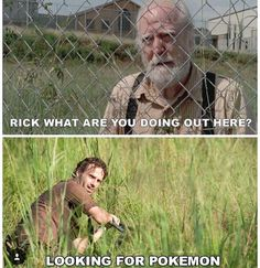 Just looking for Pokemon
