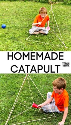 How to build a Catapult with Kids