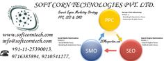 Soft Corn Tech provided many services such as SEO, SMO, SEM, Email marketing, advertising service.