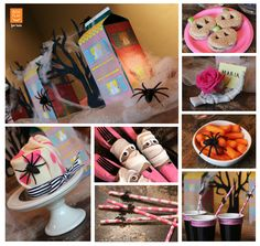 Box Play for Kids Halloween Party Idea: Ghoulish Girly-Girl Party
