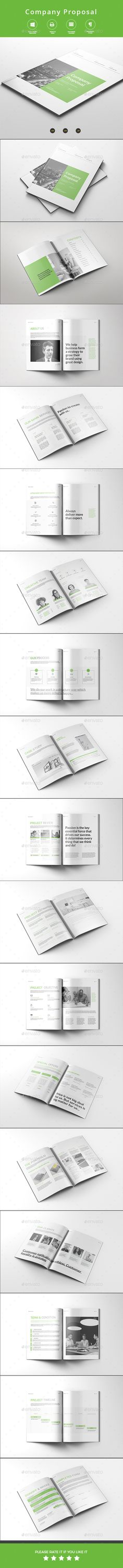 Delivery Invoice Template  Indesign Templates Proposal Templates