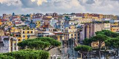 Rooftop Restaurant Rome, Hotels With Balconies, Best Restaurants In Rome, Santa Maria Maggiore, Piazza Navona, Rooftop Pool, Romantic Places, Stunning View, Perfect Place