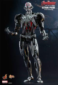 Ultron Prime em Vingadores: Era de Ultron – Action Figure Perfeita Hot Toys