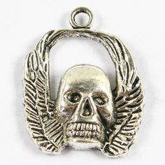 10Pc Tibetan Silver Skull Bead Charms Pendants Findings [mbd0017] - £2.49 : Wholesale Jewellery, Wholesale Beads, Jewellery Beads, Fashion Jewelry, Glass Beads - Ayliss Jewelry, Ayliss.co.uk