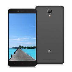 (169.99€) Xiaomi Redmi Note 2 4G Smartphone 5.5″ FHD Screen 2GB 16GB 64bit Helio X10 Octa Core MIUI V7 3060mAh 13.0MP - Gris