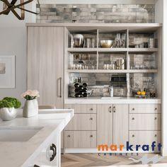 Get Creative with Kitchen and Bath Designs Kitchen And Bath Design, Grey Kitchens, Open Shelving, Floating Shelves, Countertops, Kitchen Remodel, Kitchen Cabinets, Interior Design, Bathroom
