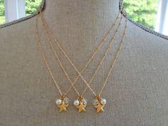 www.merjoolz.com  #jewelry #gold #summer #starfish