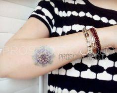 Mandala temporaire tatouage ethnique Art Mandala par prosciuttojojo