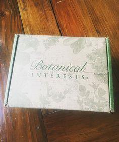 """""""Seeds arrived today! ❤❤❤#botanicalinterests @botanical_interests"""" - thekajunkween (Instagram)"""