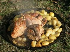 Croatian Old Time Veal And Baby Goat pod Peku Recipe #croatian #food #recipes www.casademar.com