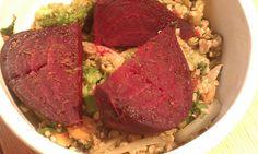 Pesto Quinoa & Lentils (Gluten Free, Dairy Free, Vegan)