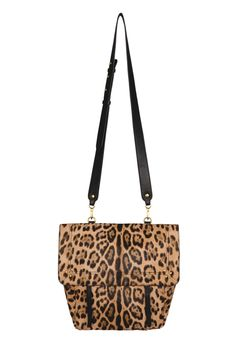 Jeremie Bag in Leopard Calfskin