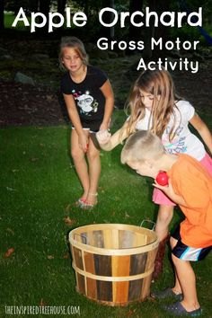 apple orchard gross motor activities
