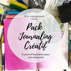 Pack Journaling Créatif Zentangle, Boutique, Diy, Drawing, Art Journal Tutorial, 21 Days, Art Therapy, Art Paintings, Home