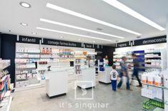 Farmacia Valdelvira en Almansa, Albacete. www.itssingular.com #farmacia #pharmacy #design #diseño #itssingular