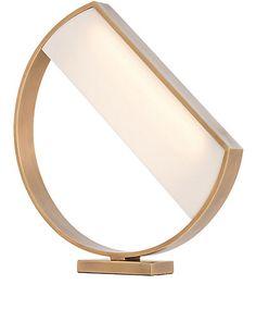 ARTERIORS Luna Brass & Acrylic Lamp - Furniture - 505005443