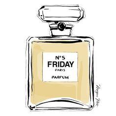 FRIDAY - Eau de Toilette. Yes, It smells amazing!
