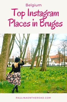 Bruges is a must when traveling to Belgium. It's the picture/photo perfect town and find here the top Instagram places & locations in Bruges. Only a day trip from Brussels.  Travel Photography   What to see in Bruges  #bruges #belgium #instagram #brussels