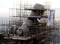 Obras de restauração