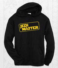"""Jedi Master""   Star Wars hoodie."