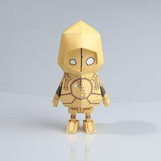 [ LOL ][ Blitzcrank ] Paper toy of Boogiehood on Toy Design Served