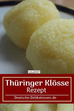 Thuringian dumplings for roasts and Co.de - Recipe for original Thuringian dumplings. They also go well with a Christmas dinner like roast goos - Vegan Christmas Dinner, Christmas Desserts, Dumpling Recipe, Dumplings, Naan, Sin Gluten, Healthy Holiday Recipes, Chicken Feed, Camping Meals