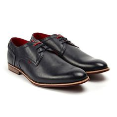 Tony's Casuals // Derby Shoe // Navy (US: 6.5)