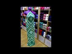 Tutorial vestido ganchillo. DIY crochet dress - YouTube