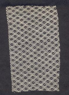Quaker Lace sample.  Kensington, Philadelphia, PA. __ the design center at philadelphia university houses 200,000+ objects related to textiles and fashion.