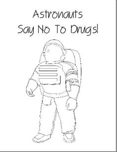 Here is a coloring sheet in celebration of Red Ribbon Week
