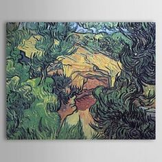 Famous Oil Painting Entrance to a Quarry by Van Gogh - WallArtBox
